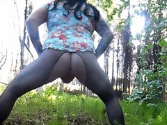 Best of vidz Crossdresser Exhibitionist  super Fucking Himself Outdoors