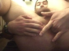 Fingering my vidz hairy gaping  super pink butthole