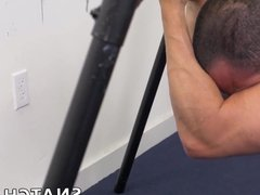 Hunky blindfolded vidz guy fucked  super hard by his younger colleague