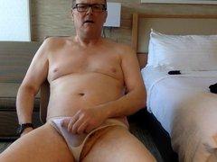 Video in vidz white undies