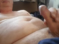 Jerking my vidz cock for  super you Neil