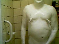 body paint vidz slave