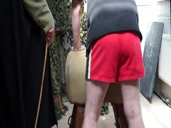 Double trouble vidz two bad  super boys spanking. Spank beating cane