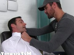 Gorgeous Beau vidz Reed gets  super the feet licking of his life