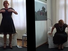 I love vidz cross dress  super as a girl 56