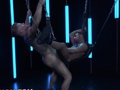 Muscle Hunk vidz Gets Sloppy  super Blowjob & Gives Back Some Rough Sex