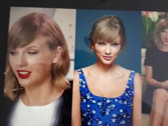 Taylor Swift vidz Jerk of  super Challenge Cumtribute