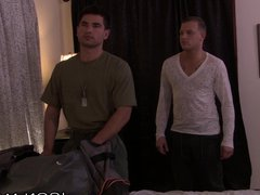 IconMale Army vidz Hunk Vadim  super Black Gives it To Brandon's Hole