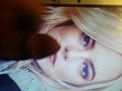 Emma Stone vidz cum tribute  super 5