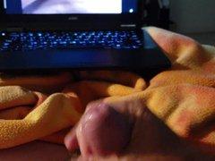 Me cumming vidz while watching  super Butchie66 cumming