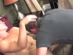 Servicing His vidz Boy