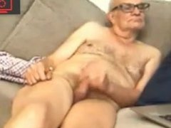 grandpa jerking vidz off