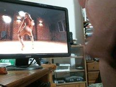 Im back vidz cum tribute  super to hot dancing