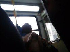 1st Flash vidz Dick Cum  super in Bus