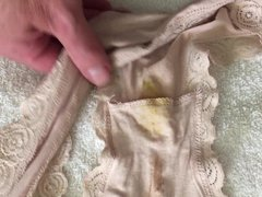 Wife's Panties vidz from business  super trip to London