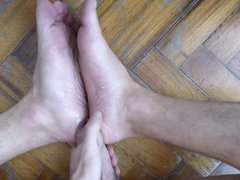 self foot vidz job +  super cum on my soles