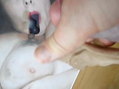 tribute for vidz Jessy, wetting  super her face
