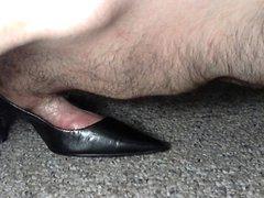 Petite Heels vidz Hump Cum