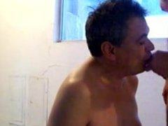 Antarespas Gay vidz Blowjob fuck  super with creampie and cumfart