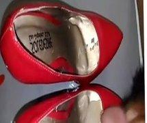 Cum in vidz red heels
