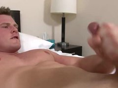 Military hunk vidz with luxurious  super cock masturbates with a big toy