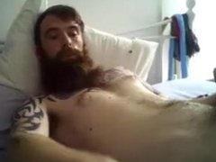 cute bearded vidz tatted dude  super cumming 45