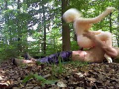 Sex in vidz the forest  super with my rubber doll