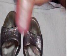 Friend's daughter vidz heels well  super creamed 2 (22 years old)