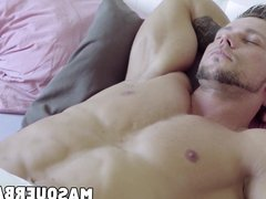 Homosexual demigod vidz Angelo Godshack  super working out and wanking