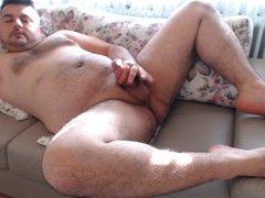 Masturbation Horny vidz Cumshot with  super Hot Moans