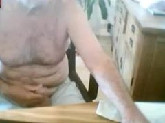 grandpa jerking vidz off &  super ass show