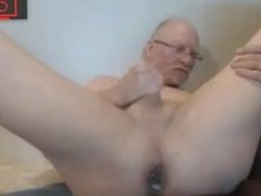 grandpa jerking vidz off &  super ass play