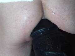 anal dildo vidz closeup
