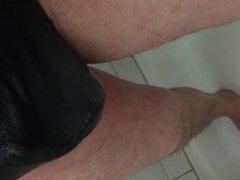 Wet black vidz panties