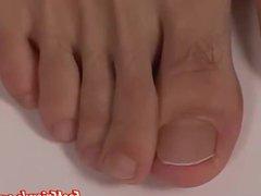 Solo masturbation vidz and feet  super showing with skinny twink Josef