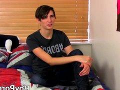 British cutiepie vidz Kyle Dickinson  super stroking until cumshot