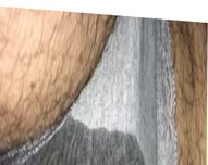 Wetting grey vidz panties