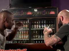 Buff interracial vidz threesome ass  super fucking in bar