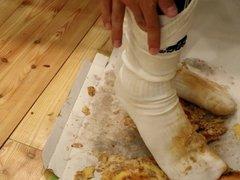 Having Fun vidz With Pizza  super & Soccer Socks