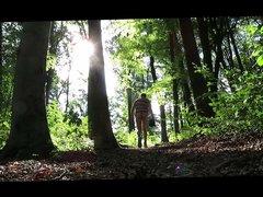 Nude outdoor vidz walk 5
