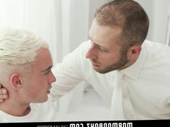 MormonBoyz-Horny twink vidz missionary jerked  super off by priest daddy