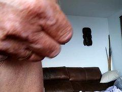 Stretching my vidz foreskin.