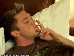 Cigar smoking vidz twinks chain  super smoke and ass fuck super hard