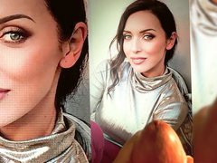 Alsou shiny vidz cloth -  super cum tribute
