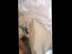 Comshot in vidz my mother-in-law  super panties 2