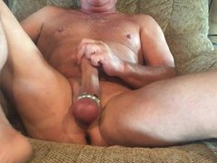 Ball Streching vidz Masturbation with  super cum shot