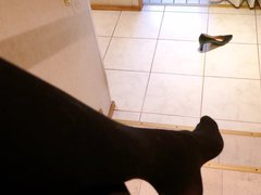 High heel vidz dangling and  super dropping