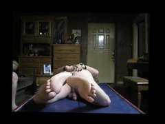 Chubby Daddy vidz Hog-tied and  super Flogged