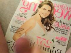 Cumming on vidz You and  super Your Wedding Magazine