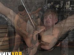 Kinky and vidz vigorous twinks  super blow each other until facial